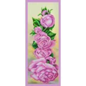 Набор для вышивания Картины Бисером Р-314 Розовый аккорд фото