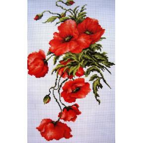 Набор для вышивки крестом Luca-S B2236 Маки