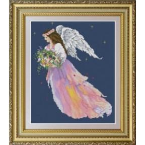 Набор для вышивания крестиком OLanTa VN-059 Ангел цветов фото