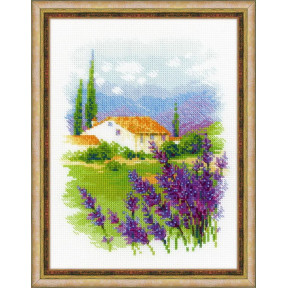 """Набор для вышивки крестом Риолис 1691  """"Ферма в Провансе"""""""