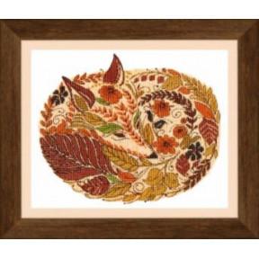 Набор для вышивания крестом Чарівна Мить ВТ-140 Краски осенью