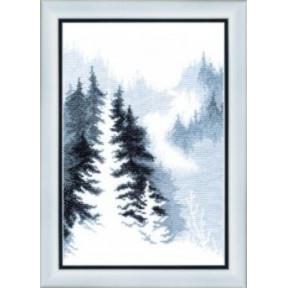Набор для вышивания крестом Чарівна Мить ВТ-158 Зимний лес фото