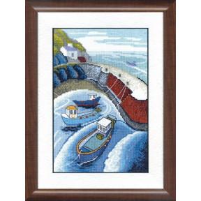 Набор для вышивания крестом Чарівна Мить ВТ-161 Запах моря фото