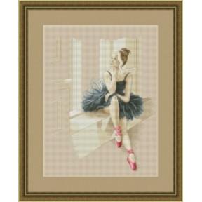 Набор для вышивания крестиком OLanTa VN-055 Балерина у окна фото