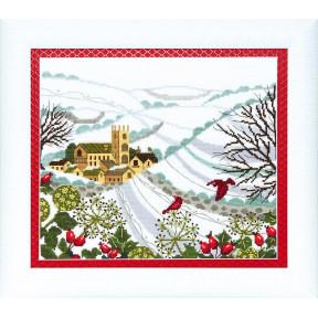 Набор для вышивания крестом Чарівна Мить ВТ-177 Рождественская