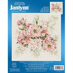 Набор для вышивания Janlynn 106-0057 Garden Roses фото