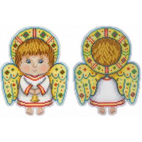 Набор для вышивки крестом МП Студия Р-158 Ангел-хранитель