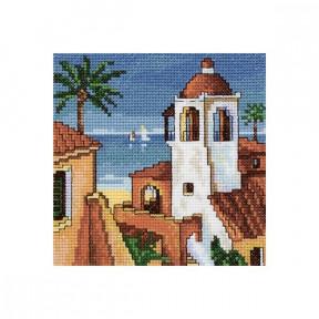 Набор для вышивки крестом EH339 Сиеста