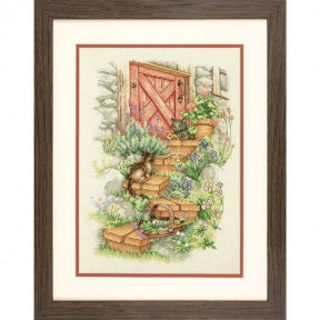 Набор для вышивания Dimensions 70-35362 Garden Steps фото