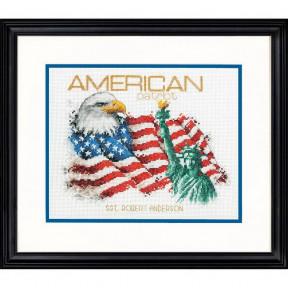 Набор для вышивания Dimensions 70-35363 American Patriot фото
