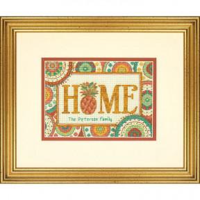 Набор для вышивания Dimensions 70-65179 Pineapple Home фото