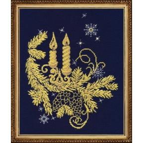 Набор для вышивки крестом Овен 1022 Золотое сияние фото