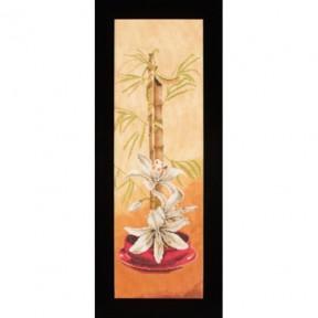 Набор для вышивания Lanarte L35026 Азиатские цветы фото