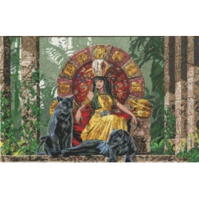 Набор для вышивания крестом DMC BK752 Aztec Queen фото