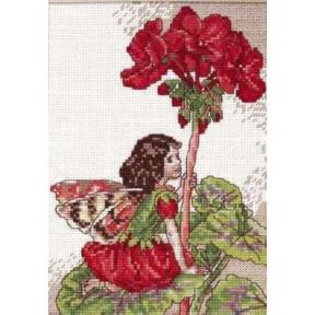 Набор для вышивания крестом DMC K4987 Geranium fairy фото