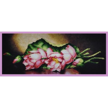 Набор для вышивания Картины Бисером Р-236 Лотосы фото