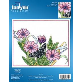 Набор для вышивания крестом Janlynn 017-0107 Dainty Pose фото