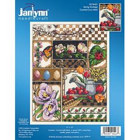 Набор для вышивания Janlynn 017-0101 Spring Montage фото
