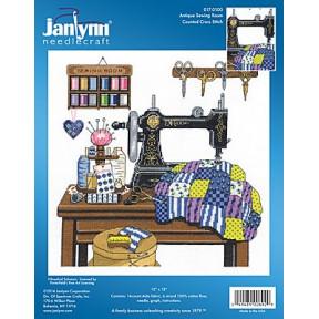 Набор для вышивания Janlynn 017-0100 Antique Sewing Room фото