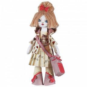 """Набор для шитья куклы на льняной основе. Текстильная кукла Нова Слобода К1014 """"Піаністка"""""""