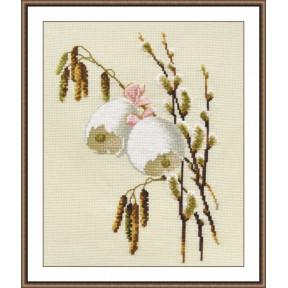 Набор для вышивки крестом Овен 752 Весенний звон
