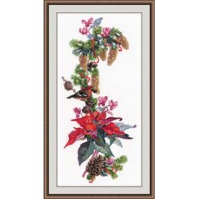 Набор для вышивки крестом Овен 1016 Рождественская звезда