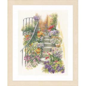 Набор для вышивания Lanarte PN-0169680 Flower Stairs фото