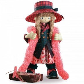 Набор для шитья каркасной интерьерной куклы Нова Слобода К1035