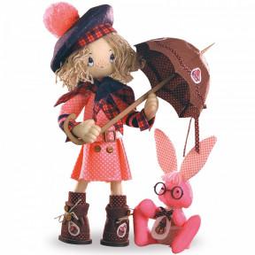 Набор для шитья каркасной интерьерной куклы Нова Слобода К1036