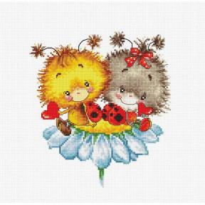 Набор для вышивки Luca-S B1141 Божьи коровки фото