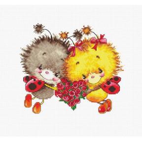Набор для вышивки Luca-S B1142 Божьи коровки фото