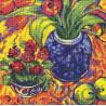 Набор для вышивки крестом RTO M496 Цветы и фрукты фото