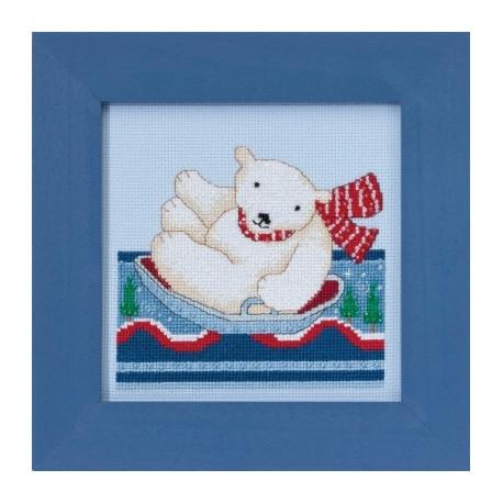 Набор для вышивания Mill Hill DM301713 Polar Slide фото