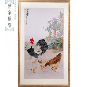 Набор для вышивки крестом XIU CRAFTS 2800105 Куриное семейство