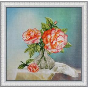 Набор для вышивания крестиком OLanTa VF-002 Розы фото