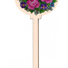 Набор для вышивки крестом Alisena 5501а-В Пасхальная – розы – топер