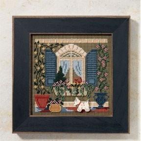 Набор для вышивания Mill Hill MH146106 Window Friends
