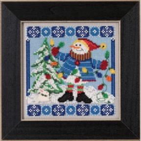 Набор для вышивания Mill Hill MH145303 Mr. Jack Frost
