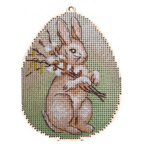 Набор для вышивки крестом Alisena 5503а-Б Пасхальная – кролик –