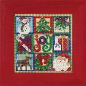 Набор для вышивания Mill Hill MH145301 Joy of Christmas