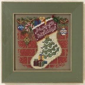 Набор для вышивания Mill Hill MH141305 Holiday Stocking