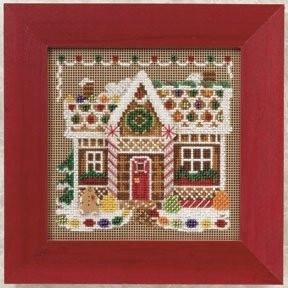 Набор для вышивания Mill Hill MH140306 Gingerbread House