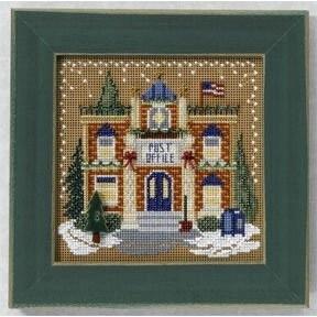 Набор для вышивания Mill Hill MH146303 Post Office