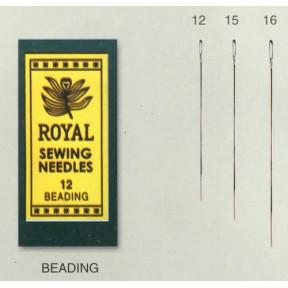 Иглы для бисера Royal Tapestry 16 (25 шт) RB16 фото