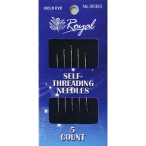 Набор легковдеваемых игл для шитья Royal (5 шт) 06093 фото