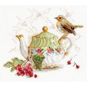Набор для вышивки крестом Алиса 5-19 Нечаянная гостья фото