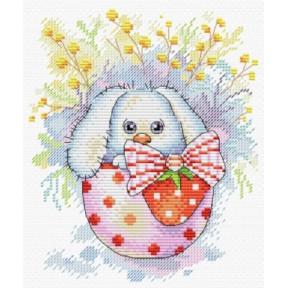 Набор для вышивки крестом МП Студия М-225 Пасхальный кролик фото