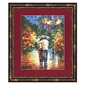Набор для вышивки Золотое Руно ЧМ-022 Романтическая прогулка