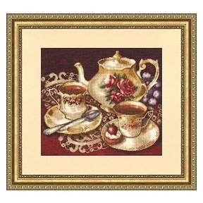 Набор для вышивки Золотое Руно СЖ-023 Чайный дуэт