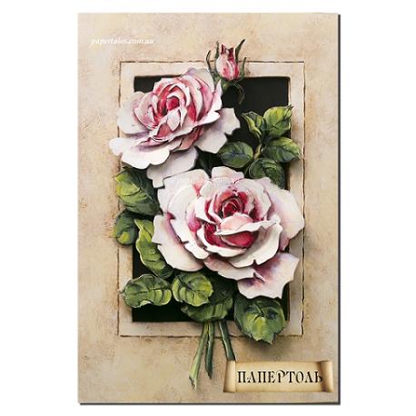 """Картина из бумаги Папертоль РТ150028 """"Винтажные розы"""" фото"""
